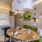 кухня 9 кв метров с диваном виды дизайна