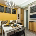 кухня 9 кв метров с диваном дизайн