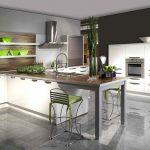 кухня без верхних шкафов декор идеи