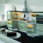 кухня без верхних шкафов дизайн идеи