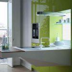 кухня без верхних шкафов фото планировки