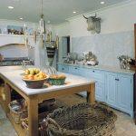 кухня без верхних шкафов планировка фото
