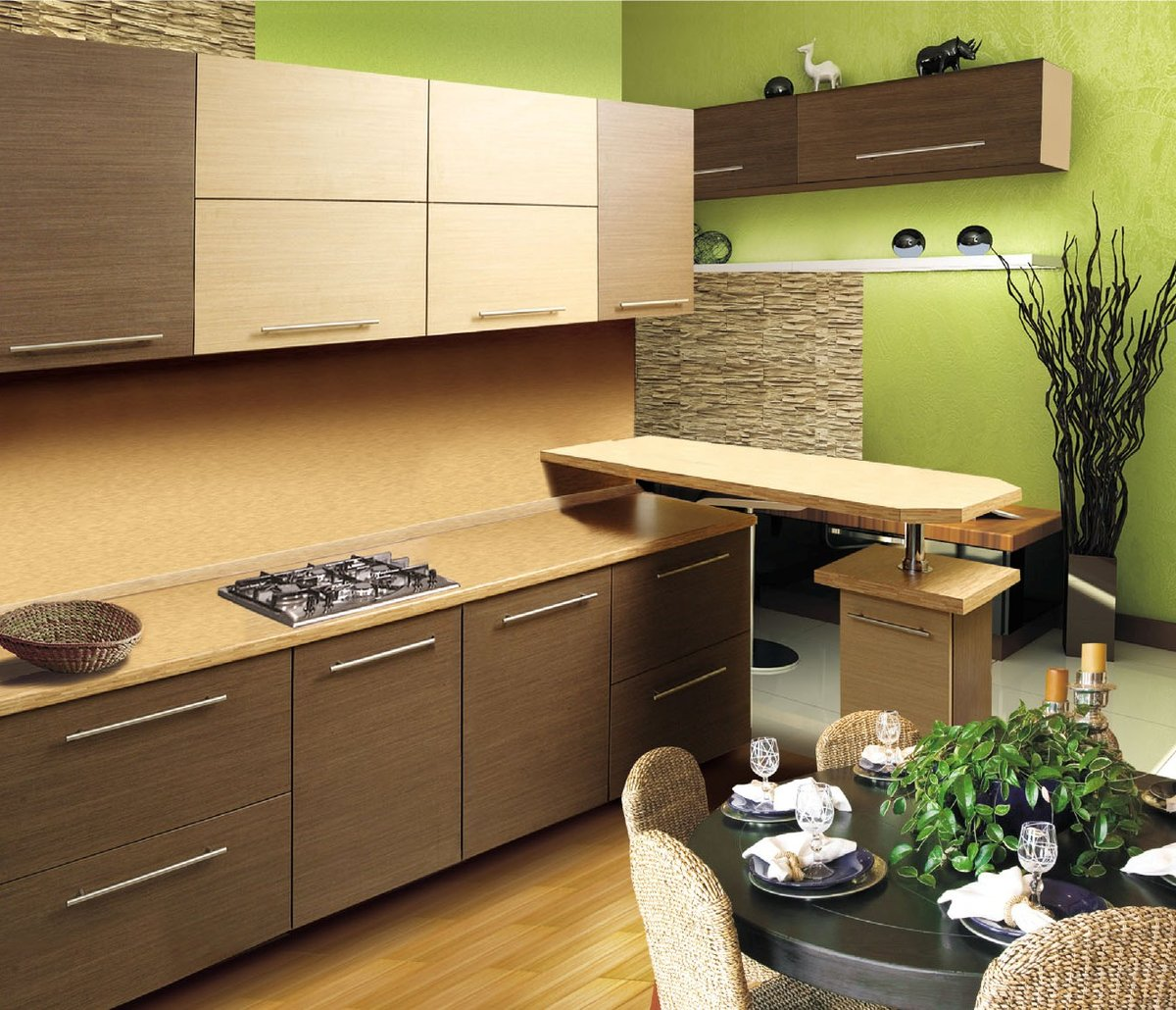 кухня из дсп дизайн