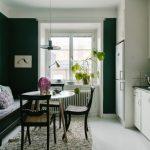кухня с диваном виды