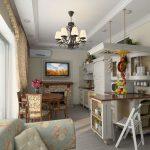 кухня с диваном декор
