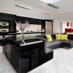 кухня с диваном идеи дизайна