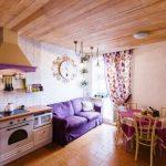 кухня с диваном идеи