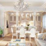 кухня с диваном виды оформления