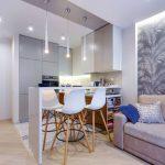 кухня с диваном обзор