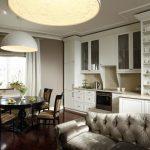 кухня с диваном варианты