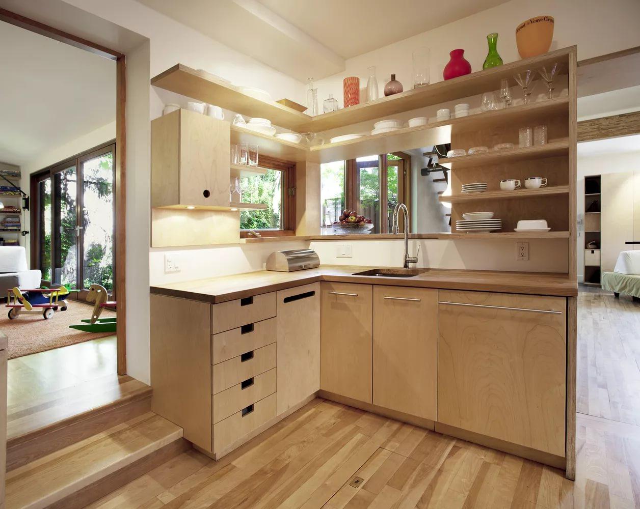 кухня своими руками из фанеры