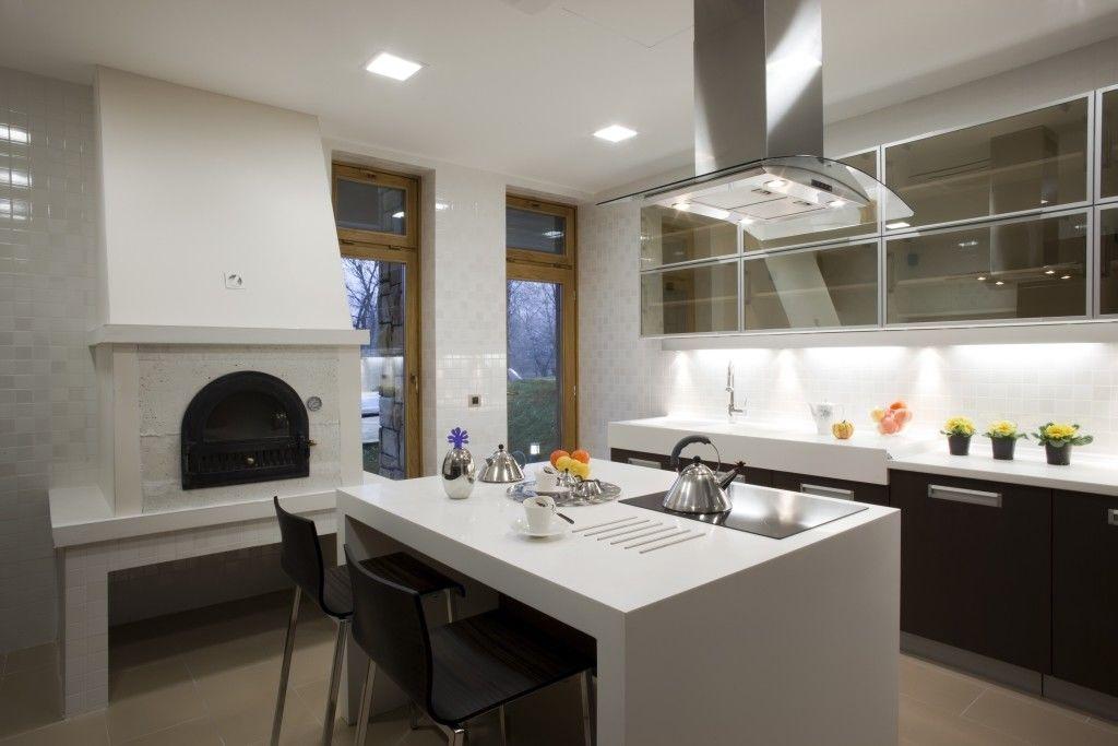 кухонный гарнитур из гипсокартона