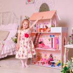 домик стеллаж для игрушек