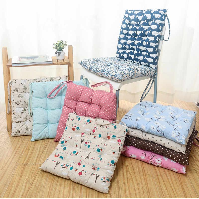 квадратные подушки на стулья