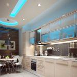 подсветка гарнитура на кухне