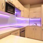 подсветка гарнитура на кухне фото