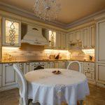 подсветка гарнитура на кухне декор фото
