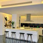 подсветка гарнитура на кухне фото декор