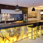 подсветка гарнитура на кухне декор идеи