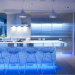 подсветка гарнитура на кухне фото интерьер