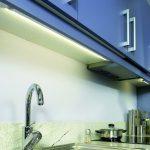 подсветка гарнитура на кухне фото интерьера