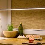 подсветка гарнитура на кухне фото оформление