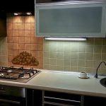 подсветка гарнитура на кухне фото виды