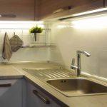 подсветка гарнитура на кухне виды идеи