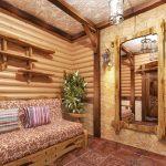 мебель для обустройства бани фото интерьера
