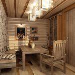 мебель для обустройства бани фото оформления