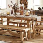 мебель из дерева столовая