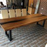 мебель из дерева стол длинный