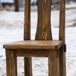 мебель из дерева стул
