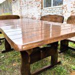 мебель из дерева стол полированный