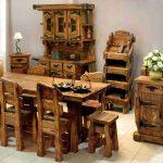 мебель из дерева деревенсская