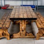 мебель из дерева дощатая