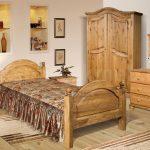 мебель из дерева кровать