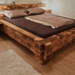 мебель из дерева кровать большая