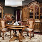 мебель из дерева гостиная