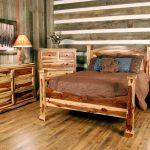 мебель из дерева спальня кантри