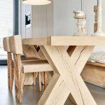 мебель из дерева белый кухонный стол
