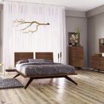 мебель орех в комнате
