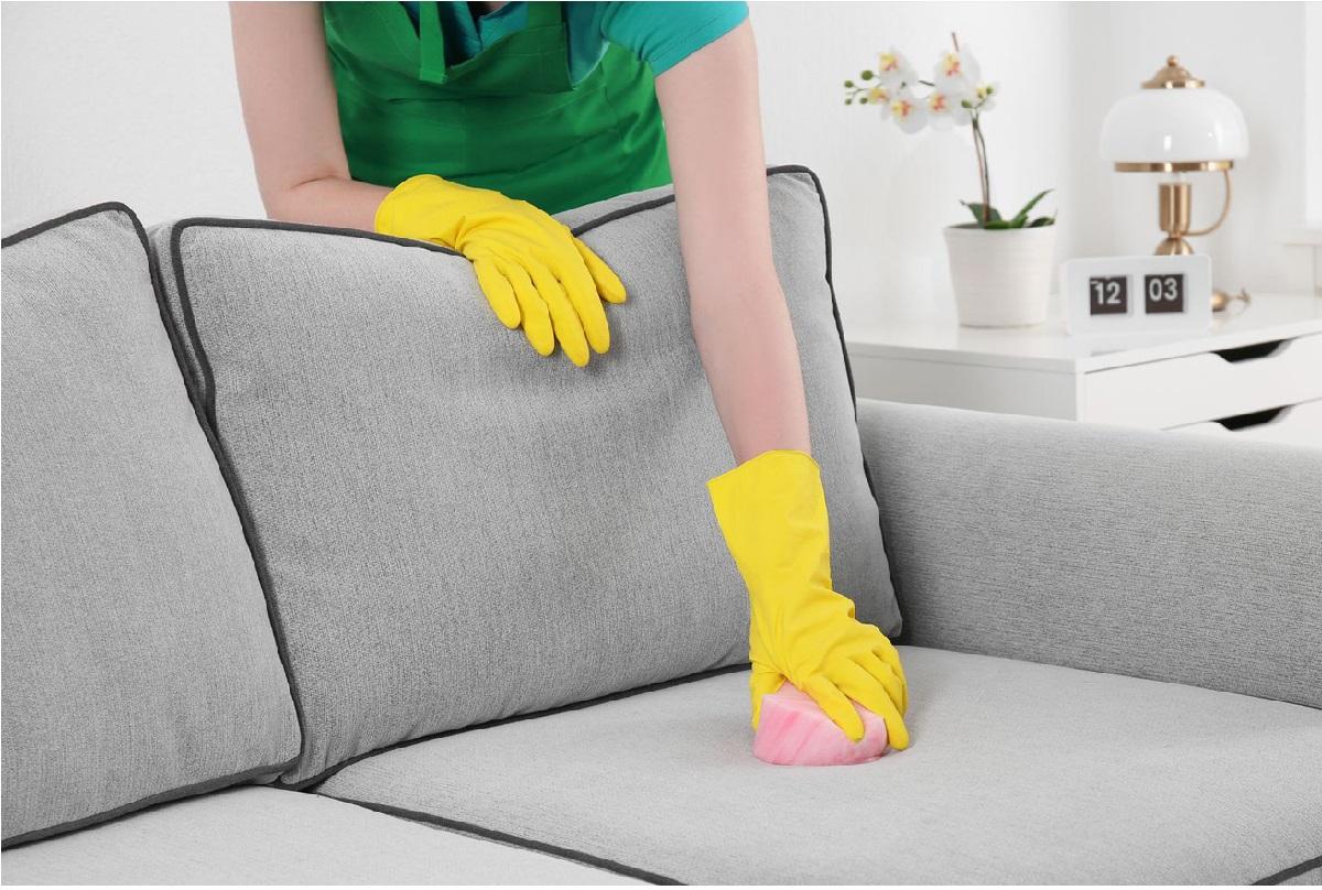 народные средства для чистки дивана