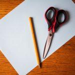 ножницы карандаш