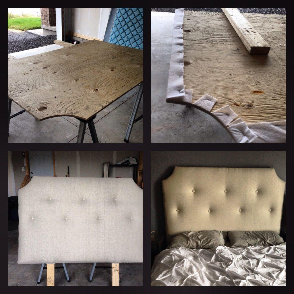 обшивка и декорирование кровати