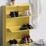обувница в прихожей виды декора