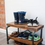 обувница в прихожей дизайн фото