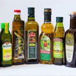 оливковое масло в бутылках