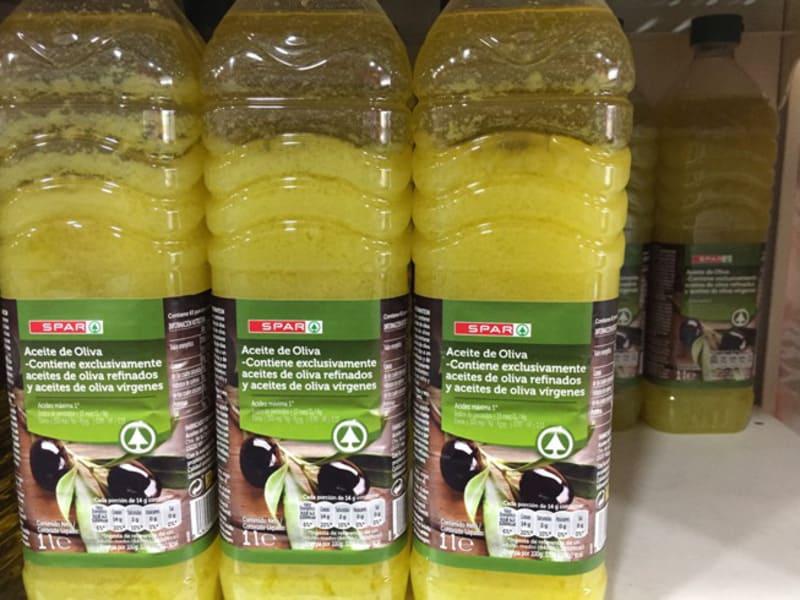 оливковое масло застывшее