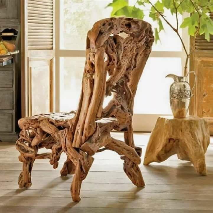 необычные стулья фото своими руками такие